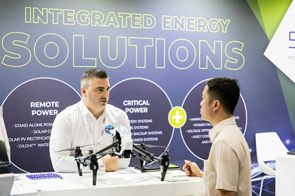 Exhibit at Energy Efficiency Expo